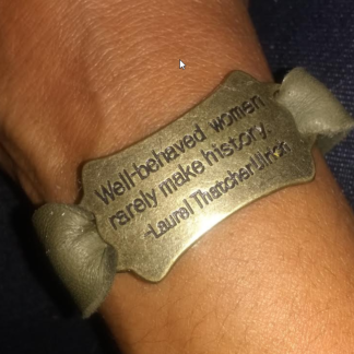leather bracelet, motivational,
